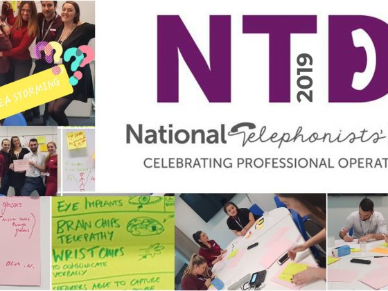 Celebrating our professional telephonists on National Telephonists' Day