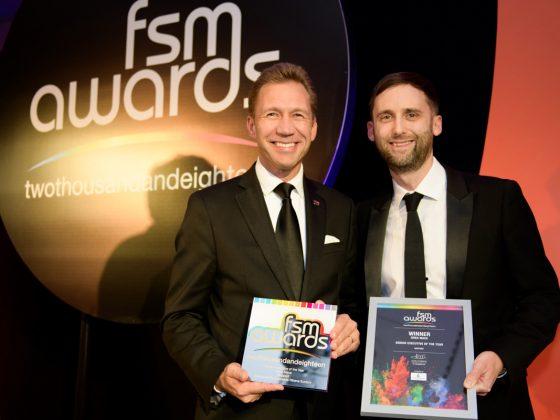 Greg Mace wins Senior Executive of the Year Award
