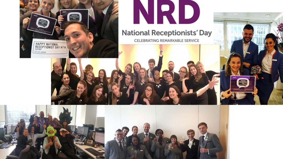 Rapport supports National Receptionists' Day 2017