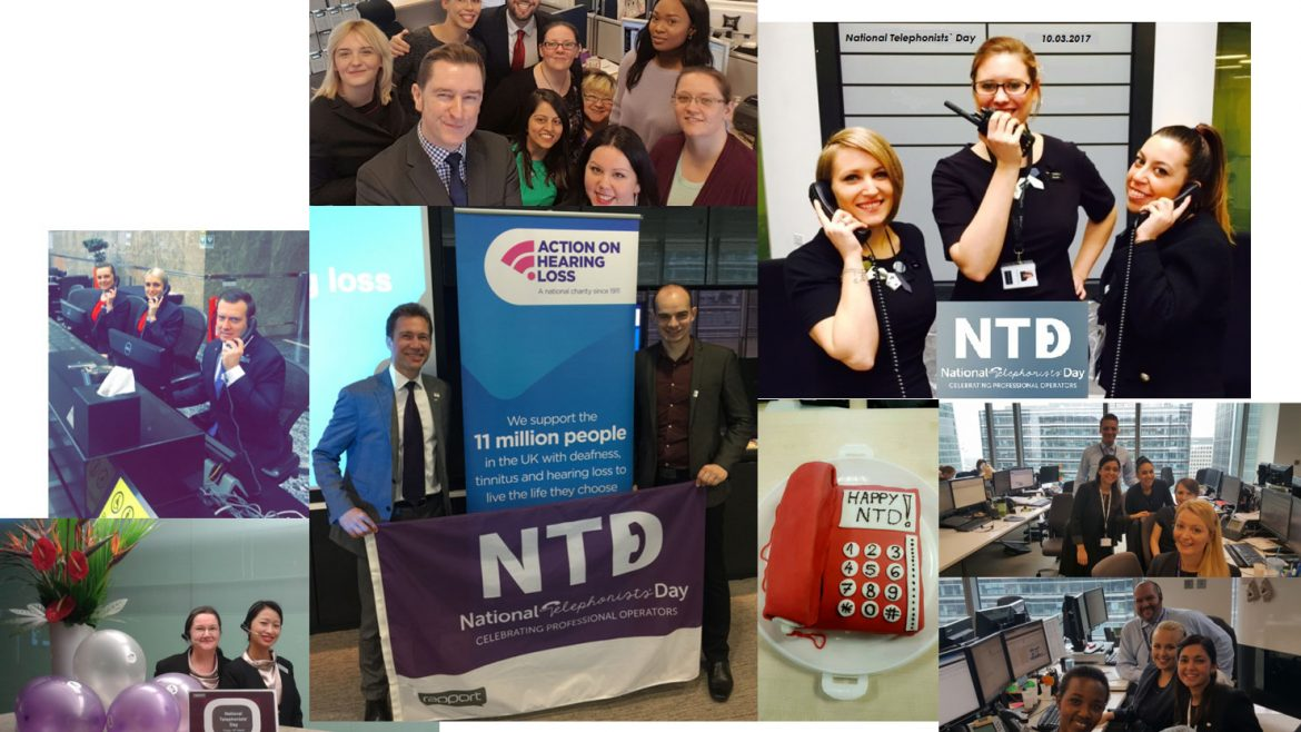ComXo and Rapport call on organisations to celebrate their professional telephonists