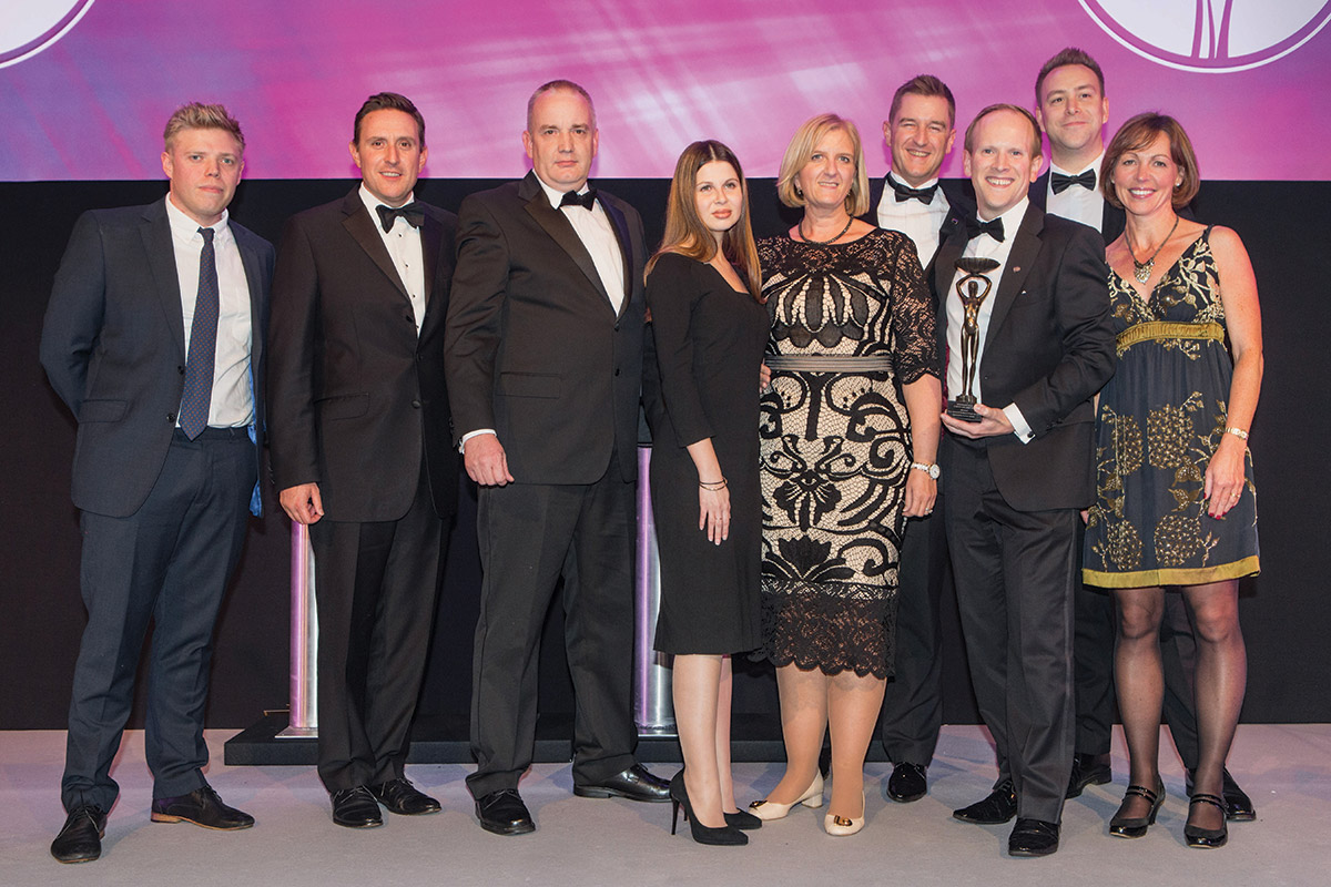 Rapport wins HR Team of the Year award at the Foodservice Cateys!