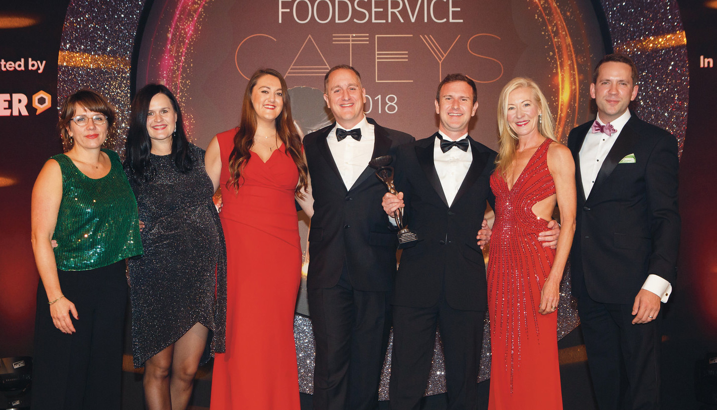 Rapport Guest Services wins 'Front of House Team of the Year' at the Catey Awardsh